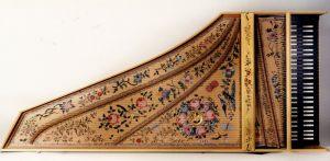 Copie du Ruckers-Hemsch 1636: table d'harmonie. Anne-Ian-Tucker