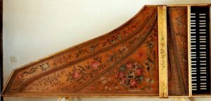 Ruckers-Hemsch 1636: table d'harmonie (original)